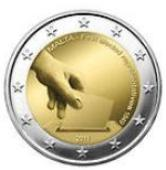 Maltese Commemorative Coin 2011 - First Election