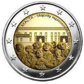 Maltese Commemorative Coin 2012 - Majority Representation
