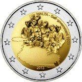 Maltese Commemorative Coin 2013