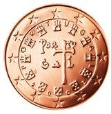 Portuguese 5 cent coin