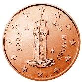 San Marino 1 cent coin