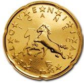 Slovenian 20 cent coin