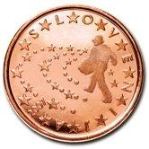 Slovenian 5 cent coin
